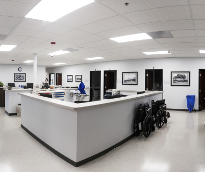 Lincoln Urgent Care Interior